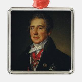 イヴァンDmitriev 1835年のポートレート メタルオーナメント