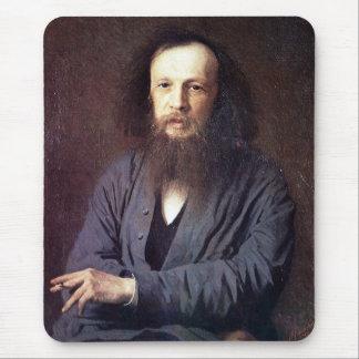 イヴァンKramskoy著Dmitri Ivanovich Mendeleev マウスパッド