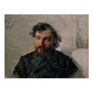 イヴァンPochitonov 1882年のポートレート ポストカード