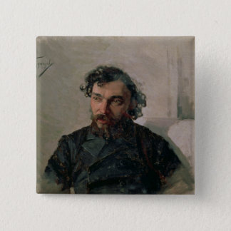 イヴァンPochitonov 1882年のポートレート 5.1cm 正方形バッジ