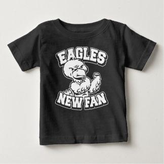 イーグルスの新しいファン ベビーTシャツ