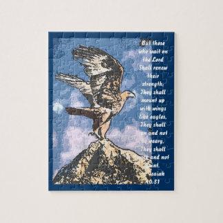 イーグルスの翼-アイザイアの40:31 ジグソーパズル