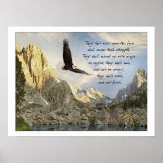 イーグルスアイザイアの40:31として翼 ポスター