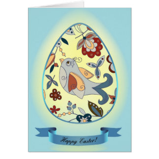 イースターのお祝い カード