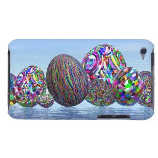 イースターのためのカラフルな卵- 3Dは描写します Case-Mate iPod TOUCH ケース