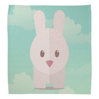 イースターのウサギのかわいい動物の養樹園の芸術の絵 バンダナ