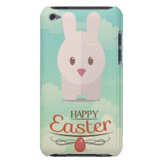 イースターのウサギのかわいい動物の養樹園の芸術の絵 Case-Mate iPod TOUCH ケース