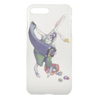 イースターのウサギのひよこのバスケットによって着色される卵 iPhone 8 PLUS/7 PLUS ケース
