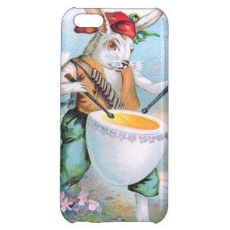 イースターのウサギのドラマーのドラム卵 iPhone 5C カバー