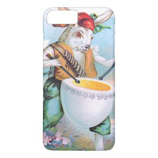 イースターのウサギのドラマーのドラム卵 iPhone 8 PLUS/7 PLUSケース