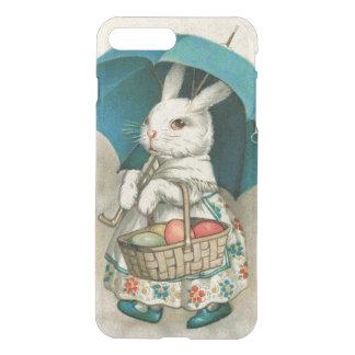 イースターのウサギのバスケットによって着色される卵の傘 iPhone 8 PLUS/7 PLUS ケース