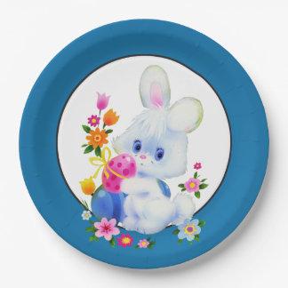 イースターのウサギの休日のパーティの紙皿 ペーパープレート