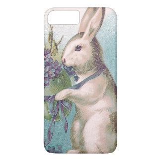 イースターのウサギの保有物によって着色される卵 iPhone 8 PLUS/7 PLUSケース