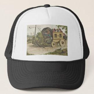 イースターのウサギの卵の駅馬車のバッタ キャップ