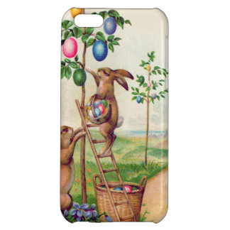 イースターのウサギの着色された卵の木 iPhone 5C カバー