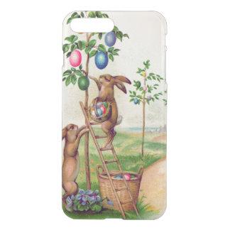 イースターのウサギの着色された卵の木 iPhone 8 PLUS/7 PLUS ケース
