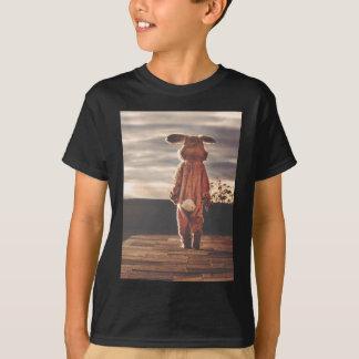 イースターのウサギの衣裳 Tシャツ