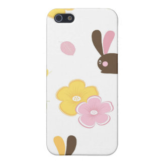 イースターのウサギのiPhoneの場合 iPhone 5 ケース