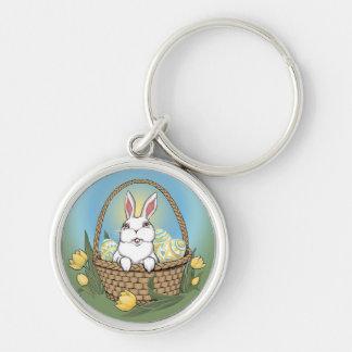 イースターのウサギのKeychainお祝いのイースターの記念品 キーホルダー