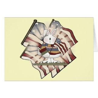 イースターのウサギのTシャツおよびギフト カード