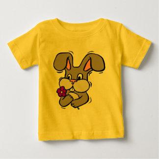 イースターのウサギのTシャツおよびギフト ベビーTシャツ