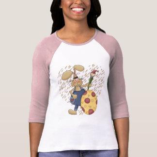 イースターのウサギのTシャツおよびギフト Tシャツ