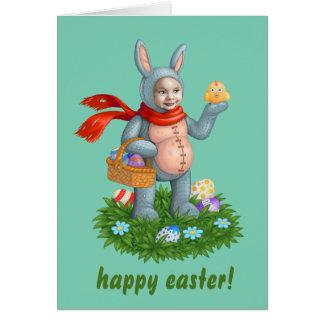 イースターのウサギ カード