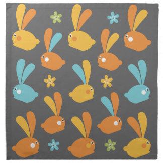 イースターのウサギ ナプキンクロス