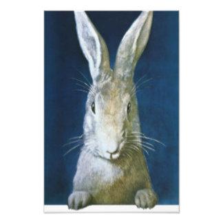 イースターのウサギ フォトプリント