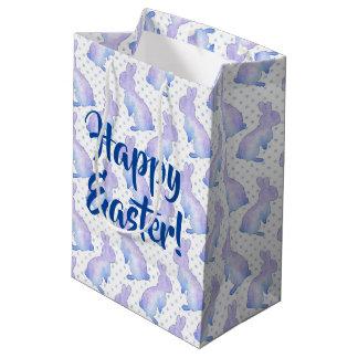 イースターのウサギ ミディアムペーパーバッグ
