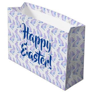 イースターのウサギ ラージペーパーバッグ