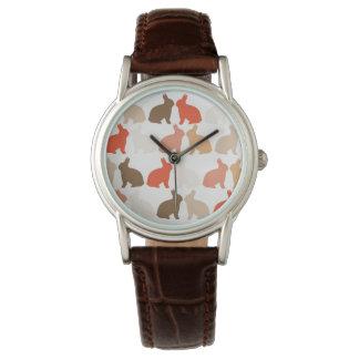 イースターのウサギ 腕時計