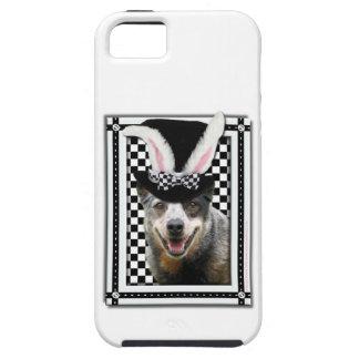 イースターはバニーオーストラリアの牛犬愛します iPhone SE/5/5s ケース