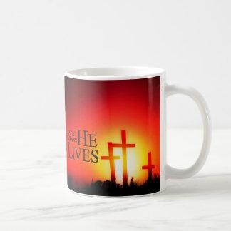 イースターは彼がマグ住んでいることを意味します コーヒーマグカップ