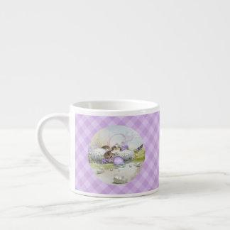 イースターエッグのエスプレッソのコップ エスプレッソカップ