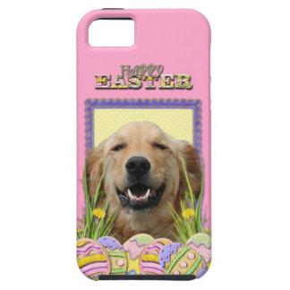 イースターエッグのクッキー-ゴールデン・リトリーバー Case-Mate iPhone 5 ケース