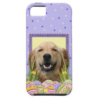 イースターエッグのクッキー-ゴールデン・リトリーバー iPhone 5 CASE