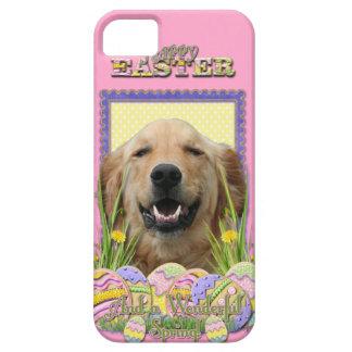 イースターエッグのクッキー-ゴールデン・リトリーバー iPhone 5 Case-Mate ケース