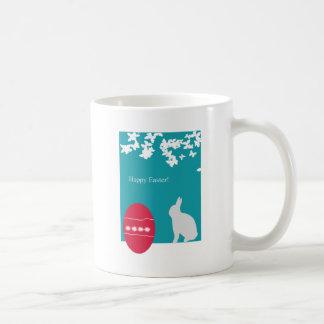 イースターエッグのバニー コーヒーマグカップ