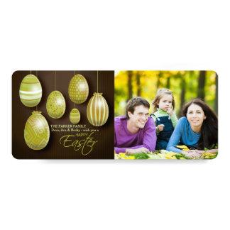 イースターエッグの写真カードをつるすこと カード