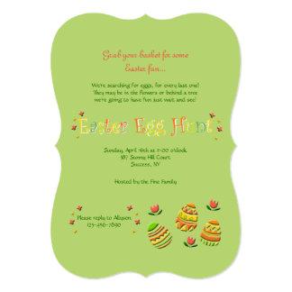 イースターエッグの招待状 カード
