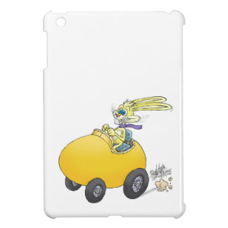 イースターエッグを運転するイースターのウサギ! .jpg iPad mini カバー