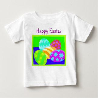イースターエッグ-幼児Tシャツ ベビーTシャツ