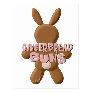 イースタージンジャーブレッドのパン ポストカード
