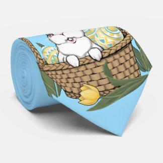 イースタータイのイースターのウサギの芸術のネクタイのイースターギフト タイ