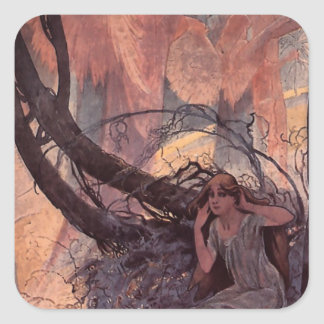 イースターチャイムはアルフォンス島のミュシャによって自然を覚醒させます スクエアシール