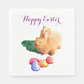 イースターナプキン: イースターのウサギ スタンダードランチョンナプキン