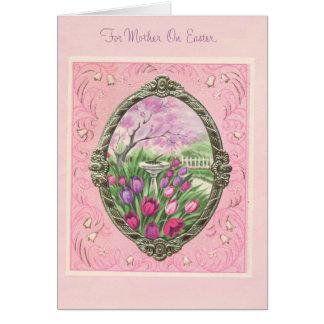 イースターピンクの母のため カード
