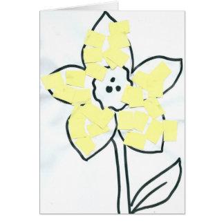 イースターファンキーな花 カード