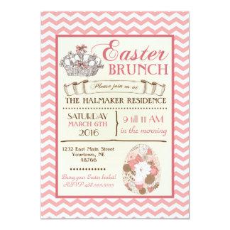 イースターブランチのイースターエッグの狩りの誕生日の招待状 カード